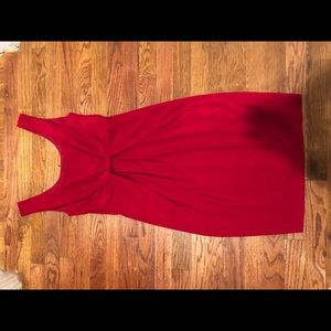 David Meister Red Cocktail Dress